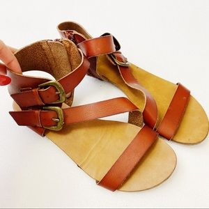 Size 6 | MOSSIMO (Target) Gladiator Strappy Flats
